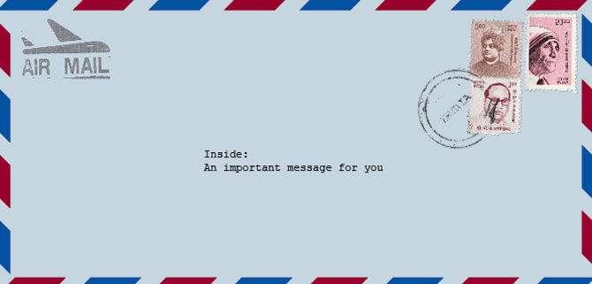 Letter from India