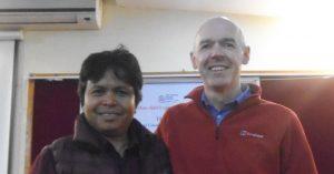 Dhaka Ram (INF), Tim Reed (TLM Scotland)